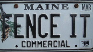 Seen our license plate around?